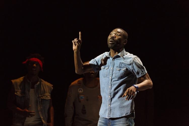 Nkenguegi de Dieudonné Niangouna au Théâtre de Vidy, Lausanne.