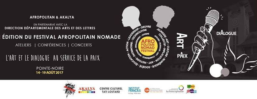 Festival Afropolitain Nomade : les inscriptions sont ouvertes jusqu'au 30 avril2017.