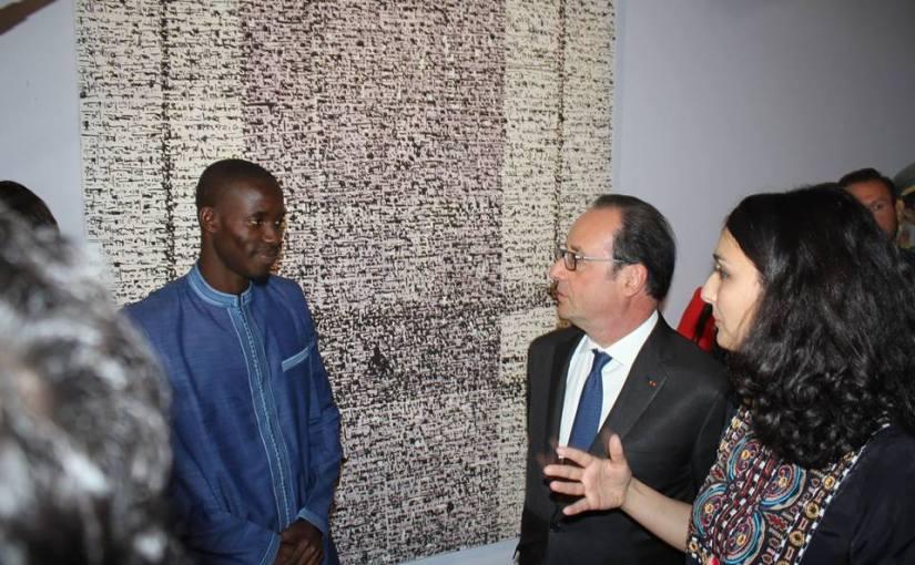 Peinture: Mbaye Babacar Diouf pour la reconnaissance de l'Islam commecivilisation