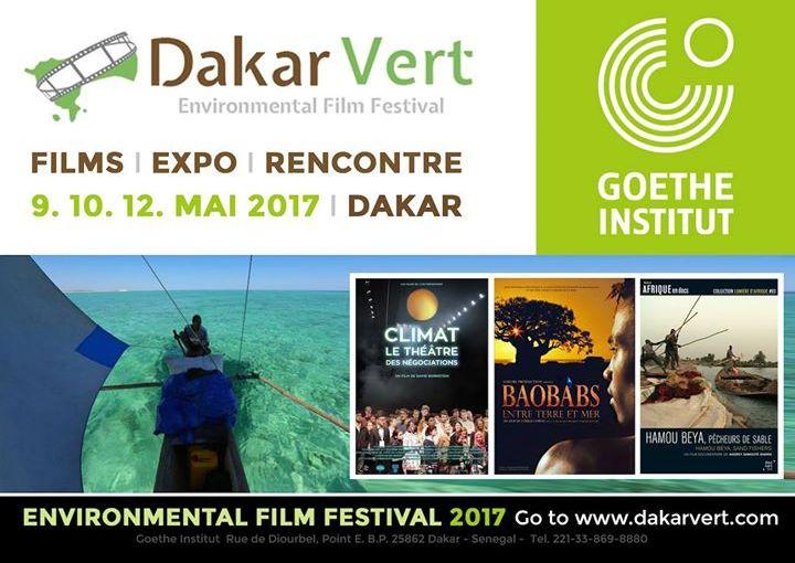 Festival du film environnemental «Dakar Vert » : 9, 10 et 12 mai2017.