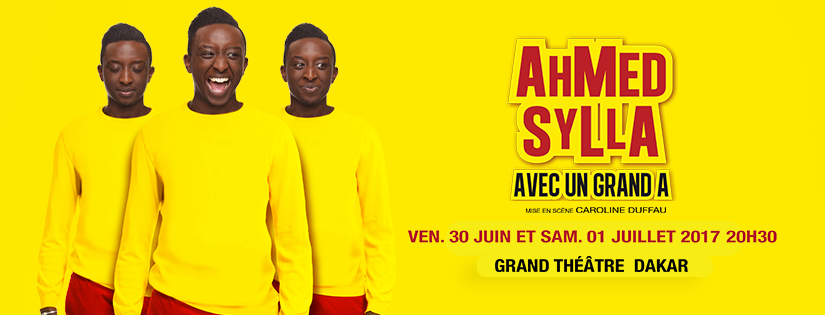 One Man Show: Ahmed Sylla à Dakar