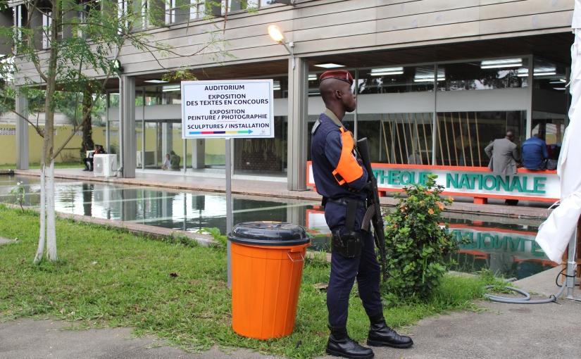 8e Jeux de la Francophonie: Vernissage textes et tableaux à la Bibliothèque Nationaled'Abidjan