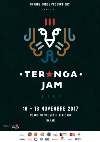 Affiche generique Teranga Jam Fest 2017