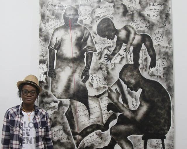 5e édition de la Biennale de Lubumbashi: Géraldine TOBE vue par Babacar MbayeDIOP