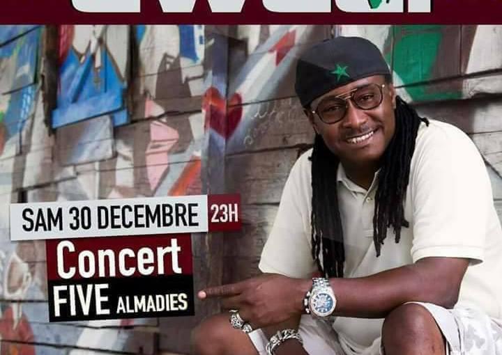 Sénégal : Awadi en Concert ce 30 Décembre 2017 auFIVE