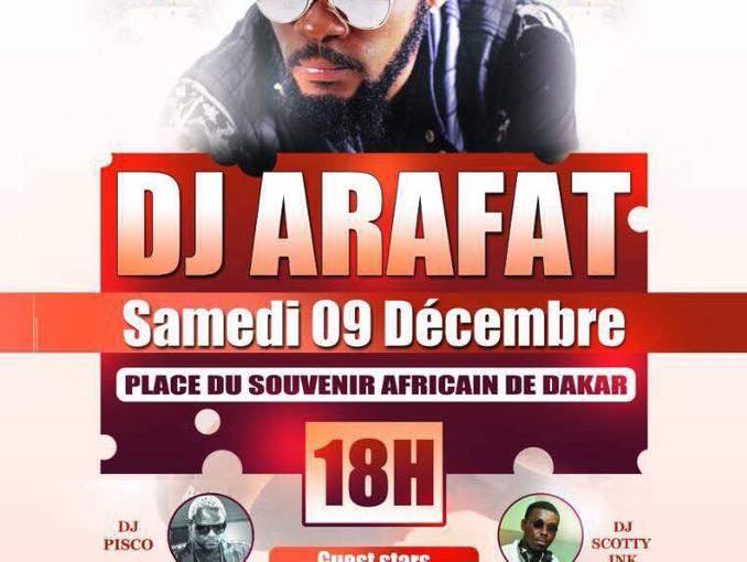Dj Arafat à Dakar : leprogramme