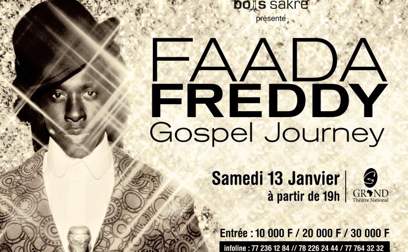 Faada FREDDY : Ndongo m'a convaincu de faire GospelJourney