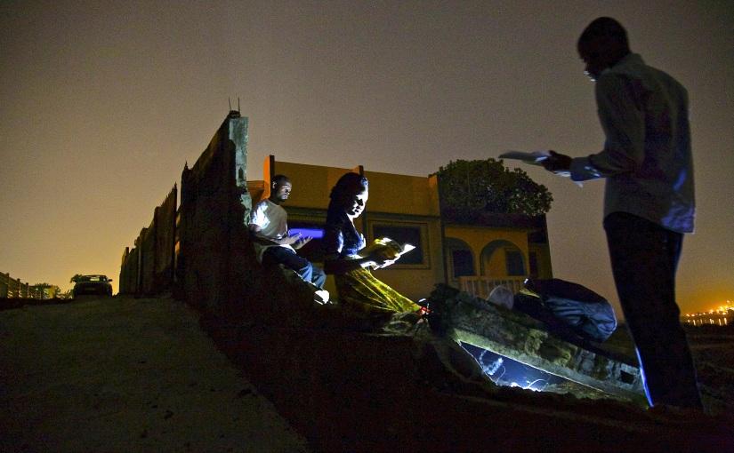 « Les fantômes de Corniche », le plaidoyer photographique pour l'électrification del'Afrique.