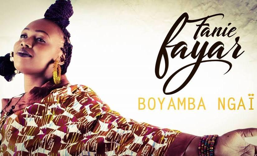 Musique: Une  voix d'or dans l'album « BOYAMBA NGAI » de FanieFAYAR