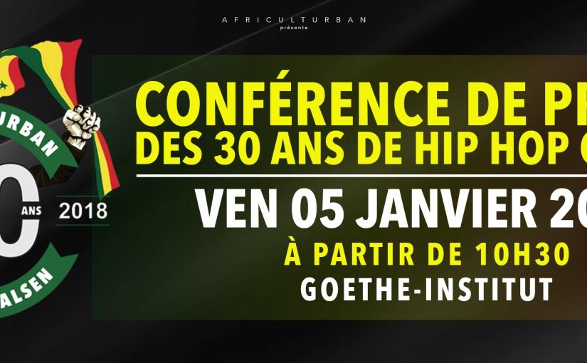 Evènement : 30 ans du Hip – Hop auSénégal