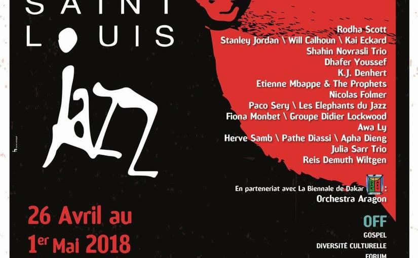 Saint Louis Jazz : Programmation de la 26eédition