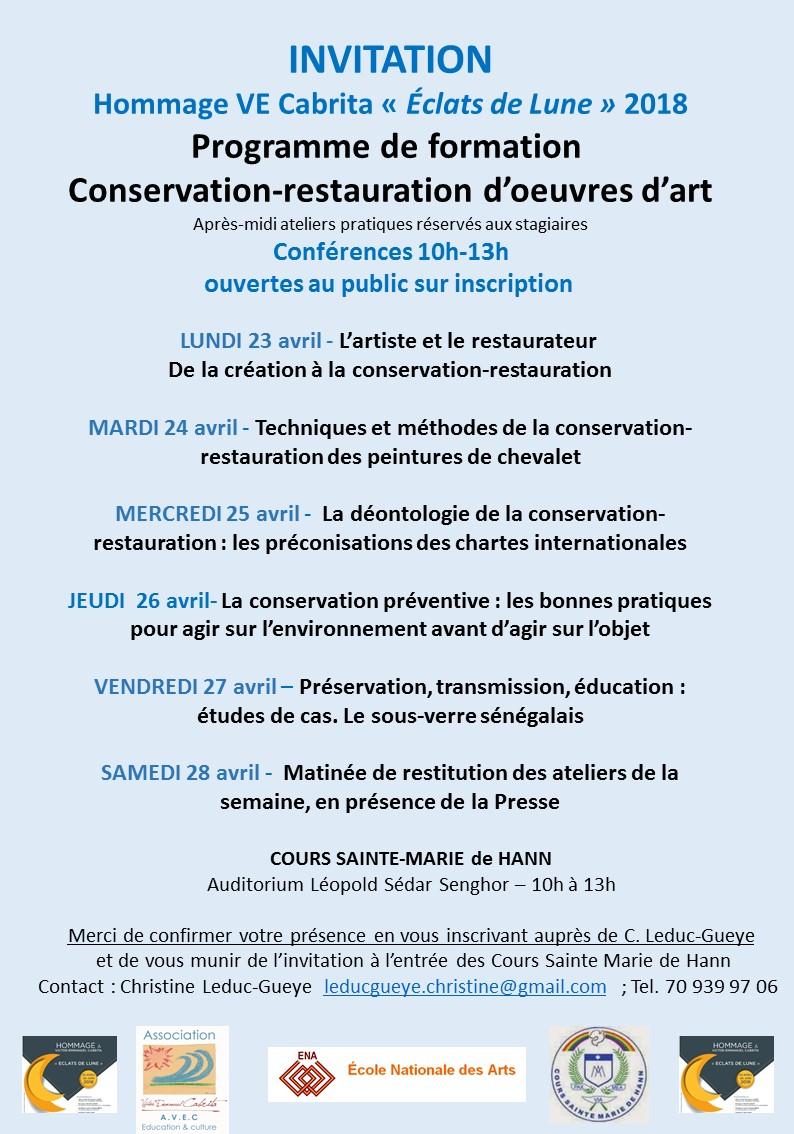 Programme conférences conservation-restauration (2)