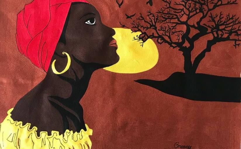 Arts visuels: De la couture à la broderie sur tissu comme œuvre d'art, le tissage du parcoursd'Oneness