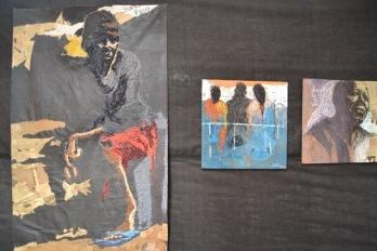 Souffle et immigration du plasticien ivoirien Wilfried Djaha