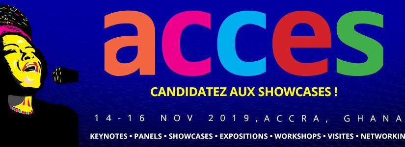 Appel à candidatures: showcases ACCES2019