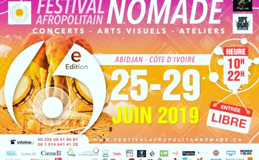 Le Festival Afropolitain Nomade, un Festival des Arts en Afrique!