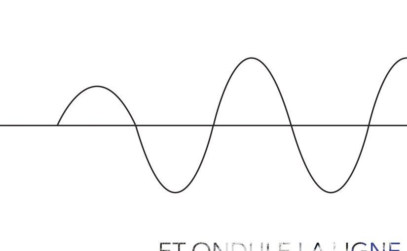 Exposition : « Et ondule la ligne » au CloîtreOuvert