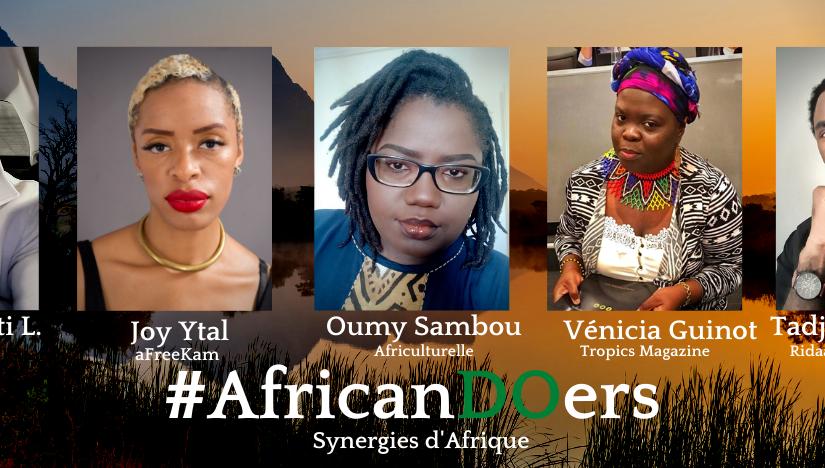 African Doers Live Talks: Tadjieuh Fenjep, Diamant noir et Kamit du clanBamiléké